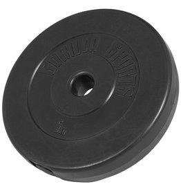 Gorilla Sports Halterschijf 5 kg Kunststof