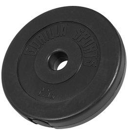 Gorilla Sports Halterschijf 2,5 kg Kunststof