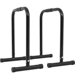 Gorilla Sports Gorilla Sports Dip Bars 2 stuks met Rubber handvatten