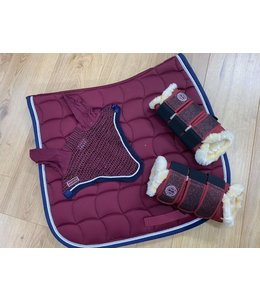 Harcour PACK Chantilly saddle pad and Diamant Rider bonnet