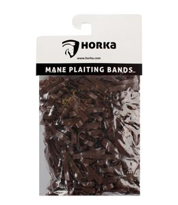 Horka Plaiting Rubber Bands Wide