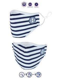 Harcour mask striped (3-pack)