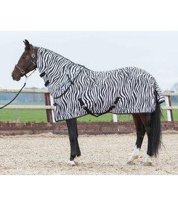 Harry's Horse Flysheet with loose neck, zebra