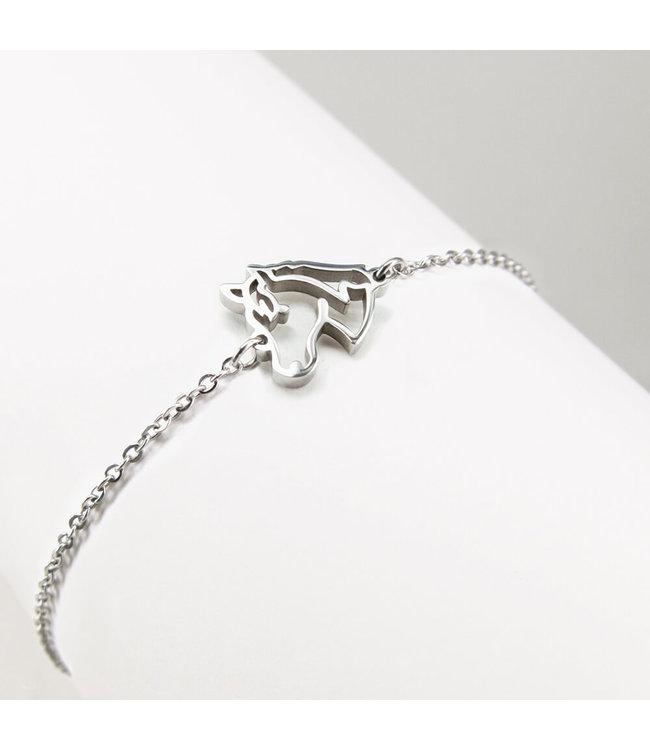 Ponytail & co Horse bracelet