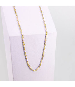 Ponytail & co Necklace with full round links