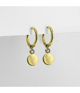 Ponytail & co Earrings with coin