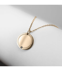 Ponytail & co Pendant lucky coin