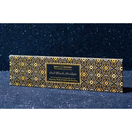 Pure Incense OUD BLACK ABSOLUTE ABSOLUTE RANGE TEMPLE GRADE FROM PURE INCENSE 20G