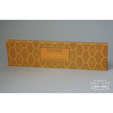 Pure Incense FRANKINCENSE ABSOLUTE RANGE TEMPLE GRADE FROM PURE INCENSE 20G