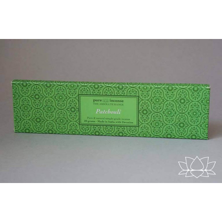 Pure Incense PATCHOULI ABSOLUTE RANGE TEMPLE GRADE FROM PURE INCENSE 20G