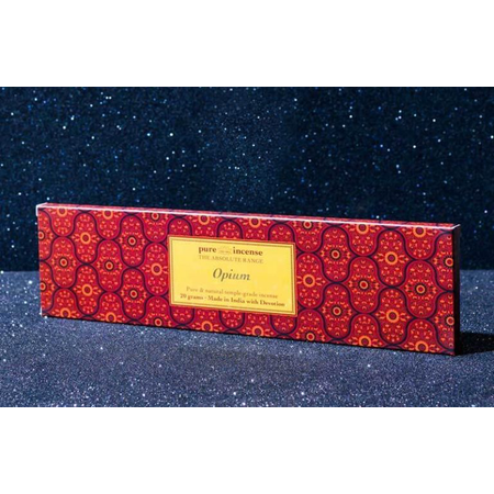 Pure Incense OPIUM ABSOLUTE RANGE TEMPLE GRADE FROM PURE INCENSE 20G