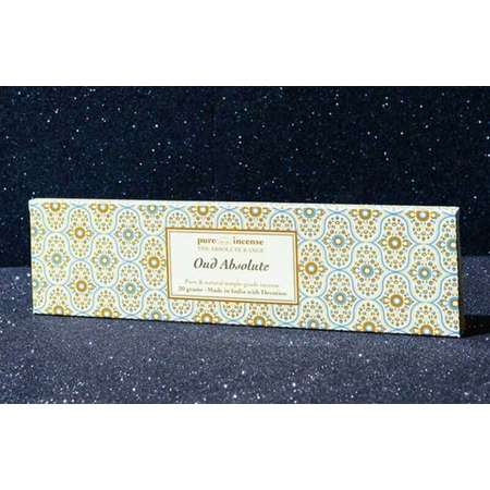 Pure Incense OUD ABSOLUTE ABSOLUTE RANGE TEMPLE GRADE FROM PURE INCENSE 20G