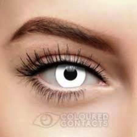 Funky Cosmetic White Out Eye eye accessories DAILY
