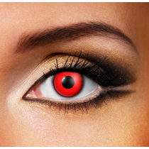 DAILY BLOODY RED eye accessories 1 DAY