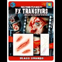 Glass Shards 3D Tattoo