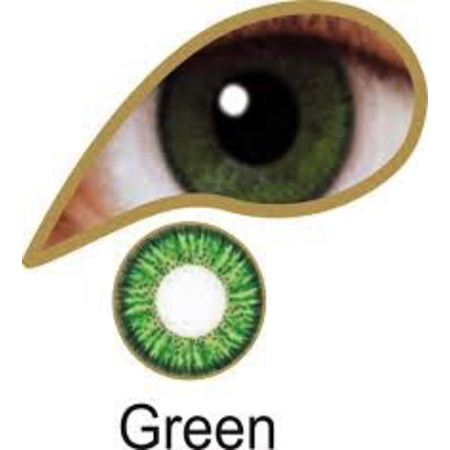 Mesmereyez GREEN ACCESSORIES 3 MONTH GREAT FOR BROWN EYES