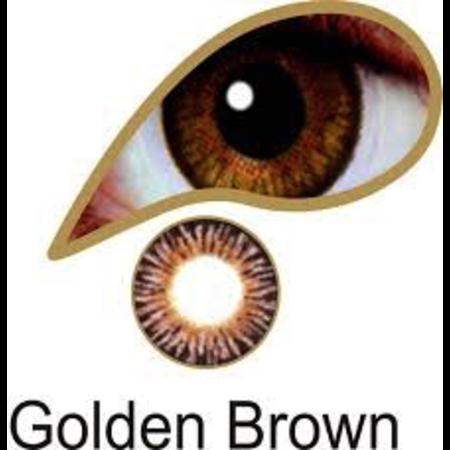 Mesmereyez 3 Month GOLDEN BROWN  EYE ACCESSORIES