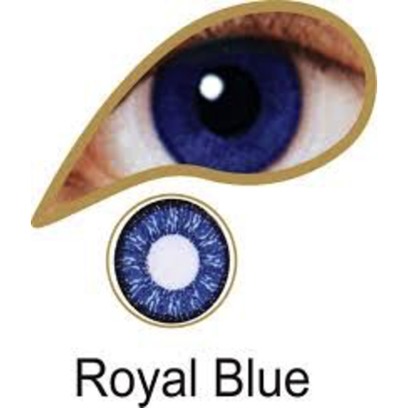 Mesmereyez ROYAL BLUE ACCESSORIES 3 MONTH GREAT FOR BROWN EYES