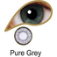 Mesmereyez PURE GREY ACCESSORIES 3 MONTH GREAT FOR BROWN EYES