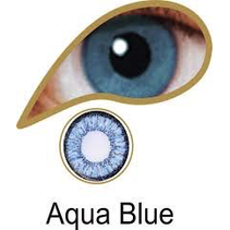 AQUA BLUE ACCESSORIES 3 MONTH GREAT FOR BROWN EYES