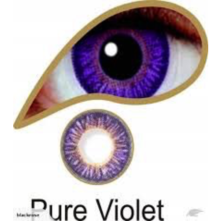Mesmereyez PURE VIOLET ACCESSORIES 3 MONTH GREAT FOR BROWN EYES
