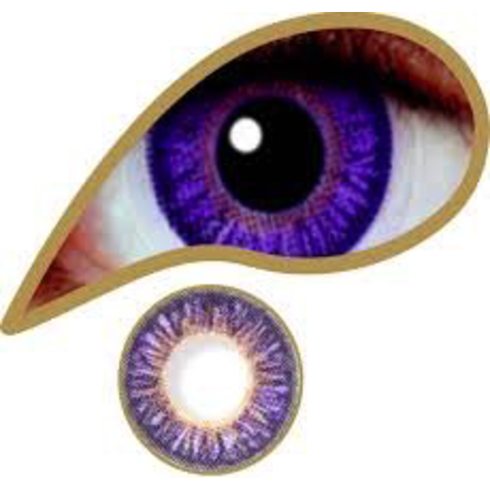 Mesmereyez VIOLET ACCESSORIES 3 MONTH GREAT FOR BROWN EYES