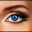 Funky Cosmetic CRAZY - Blue Elf Eye eye accessories 3 MONTH