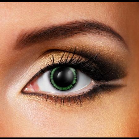 Funky Cosmetic CRAZY - Green Manga Eye eye accessories 3 MONTH
