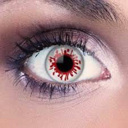 Funky Cosmetic Blood Splat Eye accessories 3 MONTH