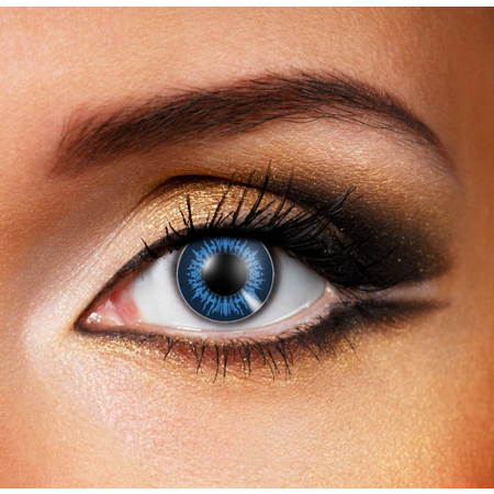 Funky Cosmetic BIGEyeS - Cool Blue Eye accessories 3 MONTH