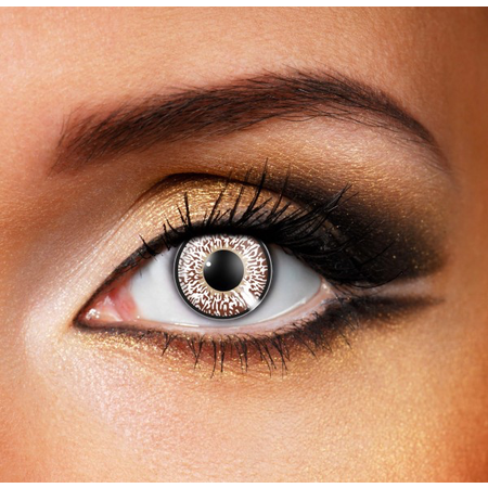 Funky Cosmetic 3 TONE - Chocolate Brown Eye 3 MONTH