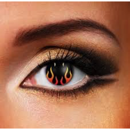 Funky Cosmetic HELLS FLAME EYE ACCESSORIES 3 MONTH