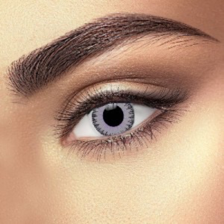 Funky Cosmetic FUSION VIOLET & GREY EYE ACCESSORIES 3 MONTH