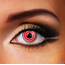 Funky Cosmetic Red Spiral Eye Accessories 3 MONTH
