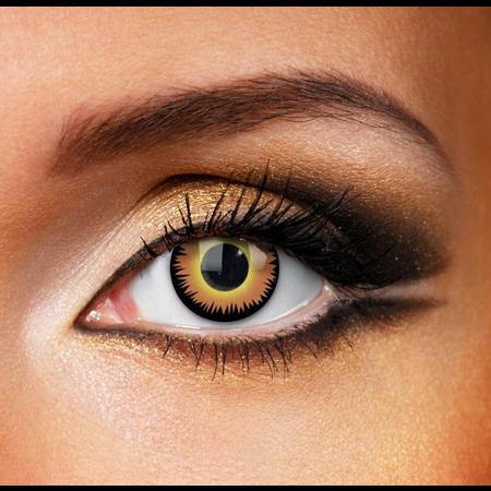 Funky Cosmetic CV CRAZY - Orange Werewolf Eye accessories 12 MONTH / 1 YEAR