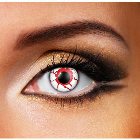 Funky Cosmetic CV CRAZY - Blood Shot Eye accessories 12 MONTH / 1 YEAR