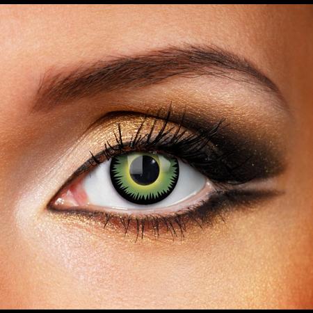 Funky Cosmetic CV CRAZY - Green Werewolf Eye accessories 12 MONTH / 1 YEAR