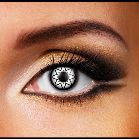 Funky Cosmetic BIGEyeS - Starry Eyes Black Eye accessories 3 MONTH