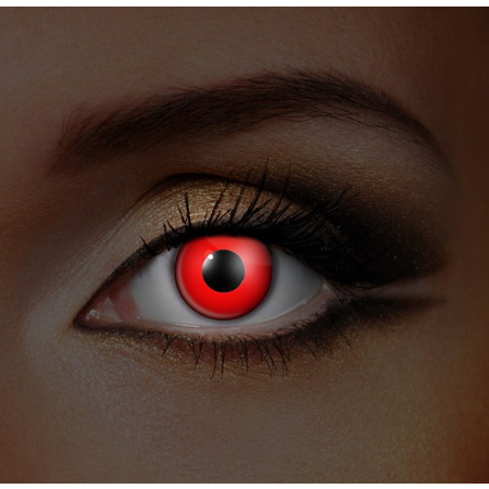 Funky Cosmetic IGLOW - Red UV Neon Eye accessories 3 MONTH