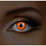 Funky Cosmetic IGLOW - Orange UV Neon Eye accessories 3 MONTH