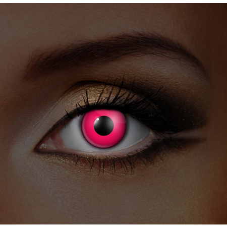 Funky Cosmetic IGLOW - Pink Cat UV Neon Eye accessories 3 MONTH
