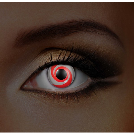 Funky Cosmetic I GLOW RED SWIRL EYE ACCESSORIES 3 MONTH