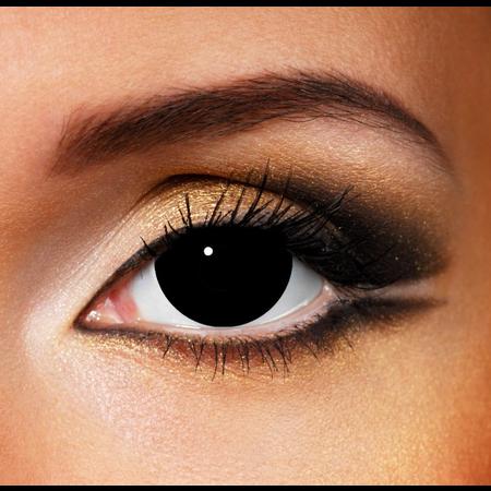 Funky Cosmetic MINI SCLERA BLACK EYE ACCESSORIES 3 MONTH