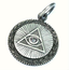 GOOD VIBRATIONS ALL SEEING EYE PDNT