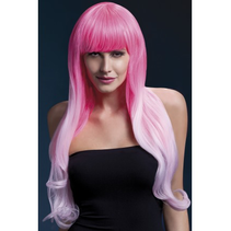 Fever Wig Emily 2 Tone Pink