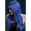 FEVER Fever Khloe Wig, Neon Blue, Long Wave with Centre Parting
