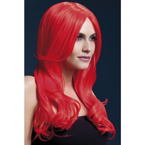 Fever Wig Khloe Neon Red