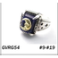 GOOD VIBRATIONS LAPIS SIGNET RING WITH GOLD MOON
