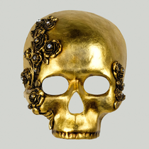 Teschio ROSE  Skull GOLD
