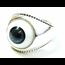 GOOD VIBRATIONS Eye ring small open